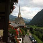 Uitzicht balkon Post Hotel Heiligenblut(2).