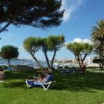 Garden looking towards Playa d'en Bossa