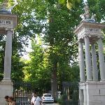 Puerta de los jardines