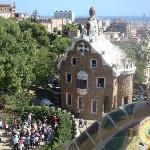 one of the houses in guell park