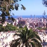 the view from guell park