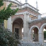 un lateral de la iglesia