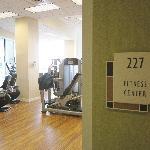 Fitnessruimte, gratis