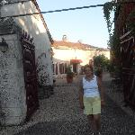 outside gates to domaine