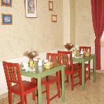 La salle des petits-déjeuners - TV et accès Internet Gratuit