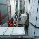 Vista dalla camera tripla (4 piano)