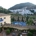 Vista desde balcón