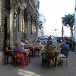 Lokal in der Via Burlo
