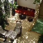 charming indoor patio
