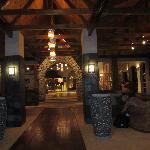lobby of the Coco de Mer hotel
