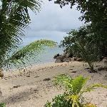 beach at Coco de Mer