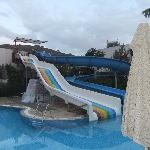 Water slides - Club side pool