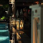 Cool elements at the pool