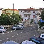 Hotel Nettuno, street view from my balcony