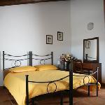 Camera matrimoniale Agriturismo La Rosta