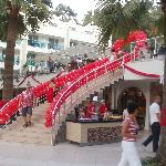 Decorated for Turkish celebrations