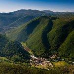 La splendida Valle del Menotre