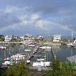 Rainbow over Bald Head Island