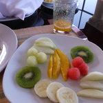 Beautiful Fruit plate