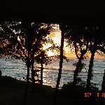 Sun rise from Aston islander