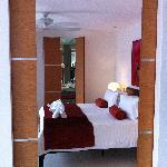 Door leading to bedroom