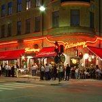 Restaurant Tennstopet by night