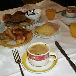 Desayunos riquísimos en el bufette del hotel....como los extraño!!!