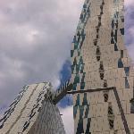 Los edificios del Bella Sky Comwell