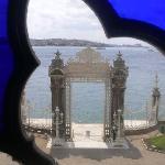 Vistas desde una ventana del palacio