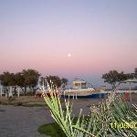 luna a santorini