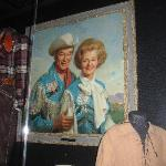 King of the Cowboys and Queen of the West, National Cowboy Museum, Oklahoma City, OK