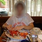 """""""petiot homard"""" au Legal Sea Foods de Cambridge"""