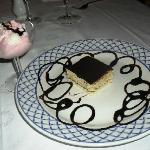Los postres en el restaurant  de carnes para cenar, el helado mío!!!