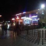 bars close to Yesil Hurma on seafront Marmaris