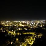 Málaga al fondo (foto movida)
