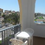 terraza de la habitacion