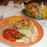 Ultimo almuerzo en el restaurant bufette...