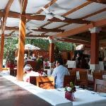 open air dining room