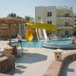 Deuxième piscine près du bar la Siesta
