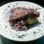 Entrée Special: Sesame Seed Wrapped Ahi Tuna Steak