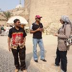 At citadel of Salahuddin