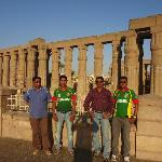 In front of Luxor temple