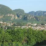 vinales valley from la ermita