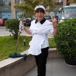A friendly staff person