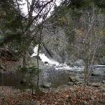 Nearby falls