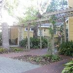 Adams House bungalow & Liz