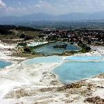 The valley of Pamukkale