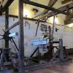 Antique loom Museo Etnografico