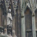 Gargoyles on the church