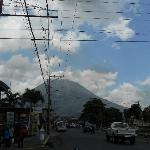 View of the Volcano from the street